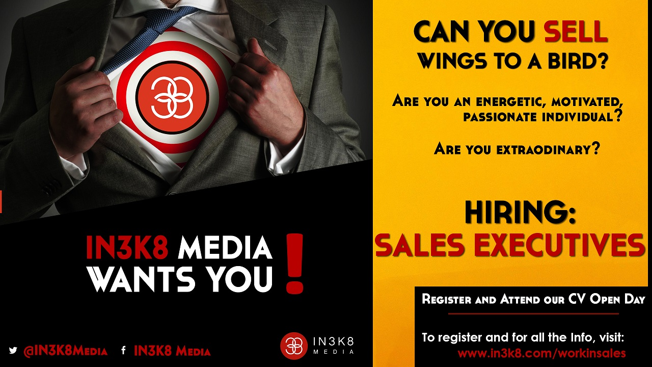 Sales Executives CV Open Day!!