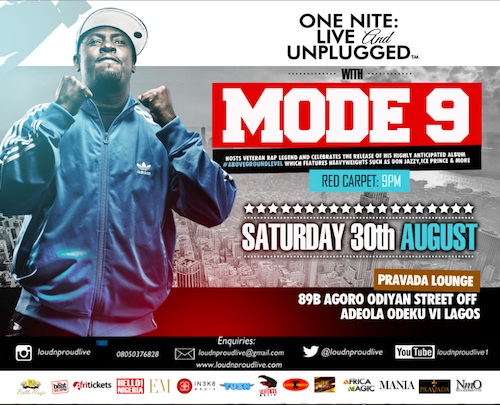 Mode 9 - One Nite: Live & Unplugged