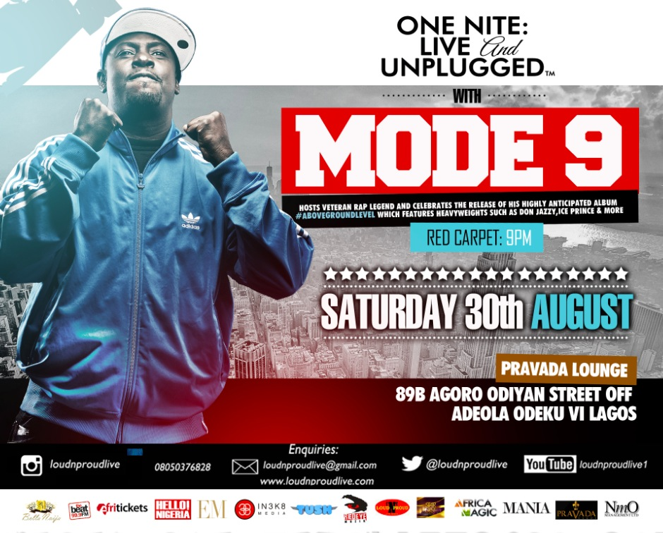 MODE 9 @ One Nite: Live & Unplugged