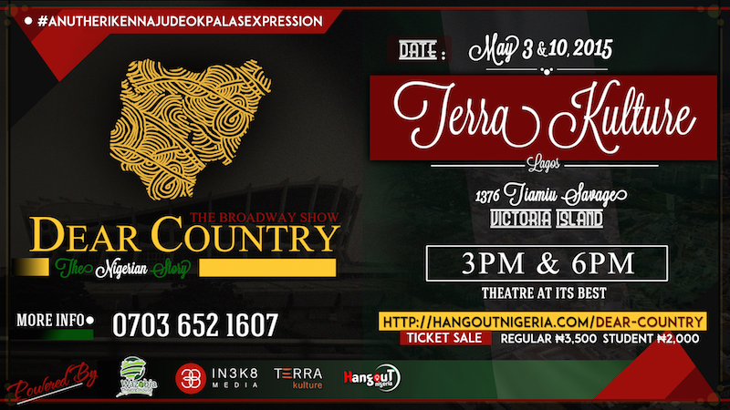 Dear Country (2015) - a Wazobia Theatre production