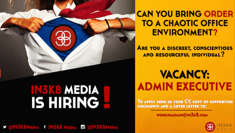 Administrative Executive Opening