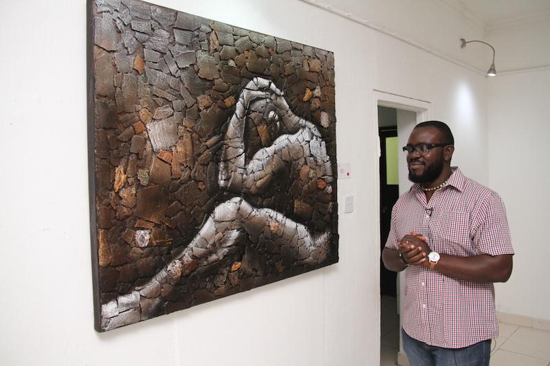 Thinking man  - Illimité(2015) by Chinedu Ogakwu
