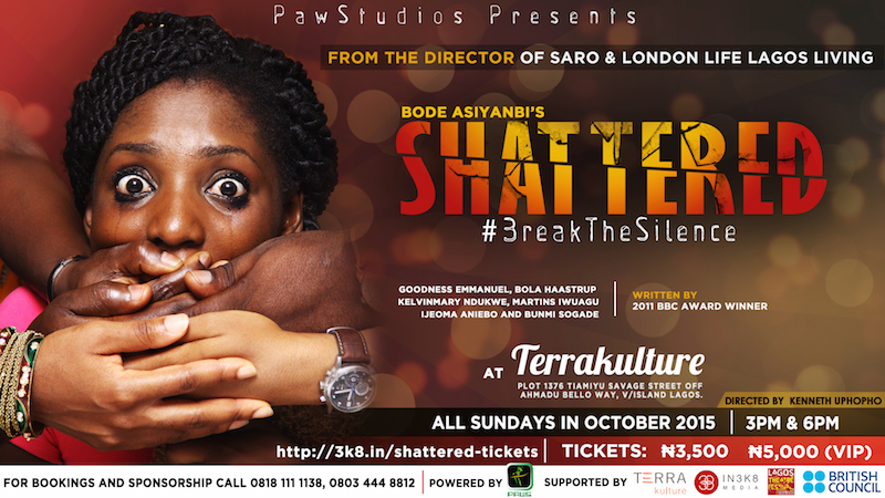Bode Asiyanbi's Shattered StagePlay at TerraKulture