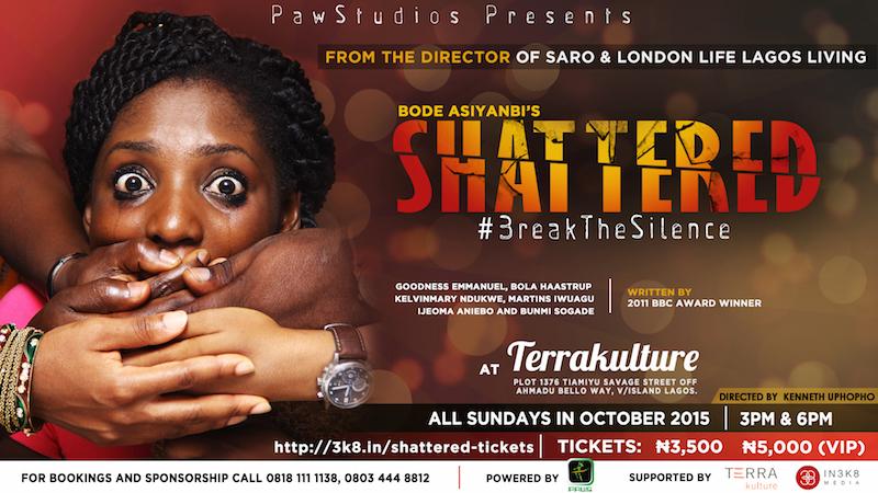 Theatre Alert: Bode Asiyanbi's Shattered at Terra Kulture