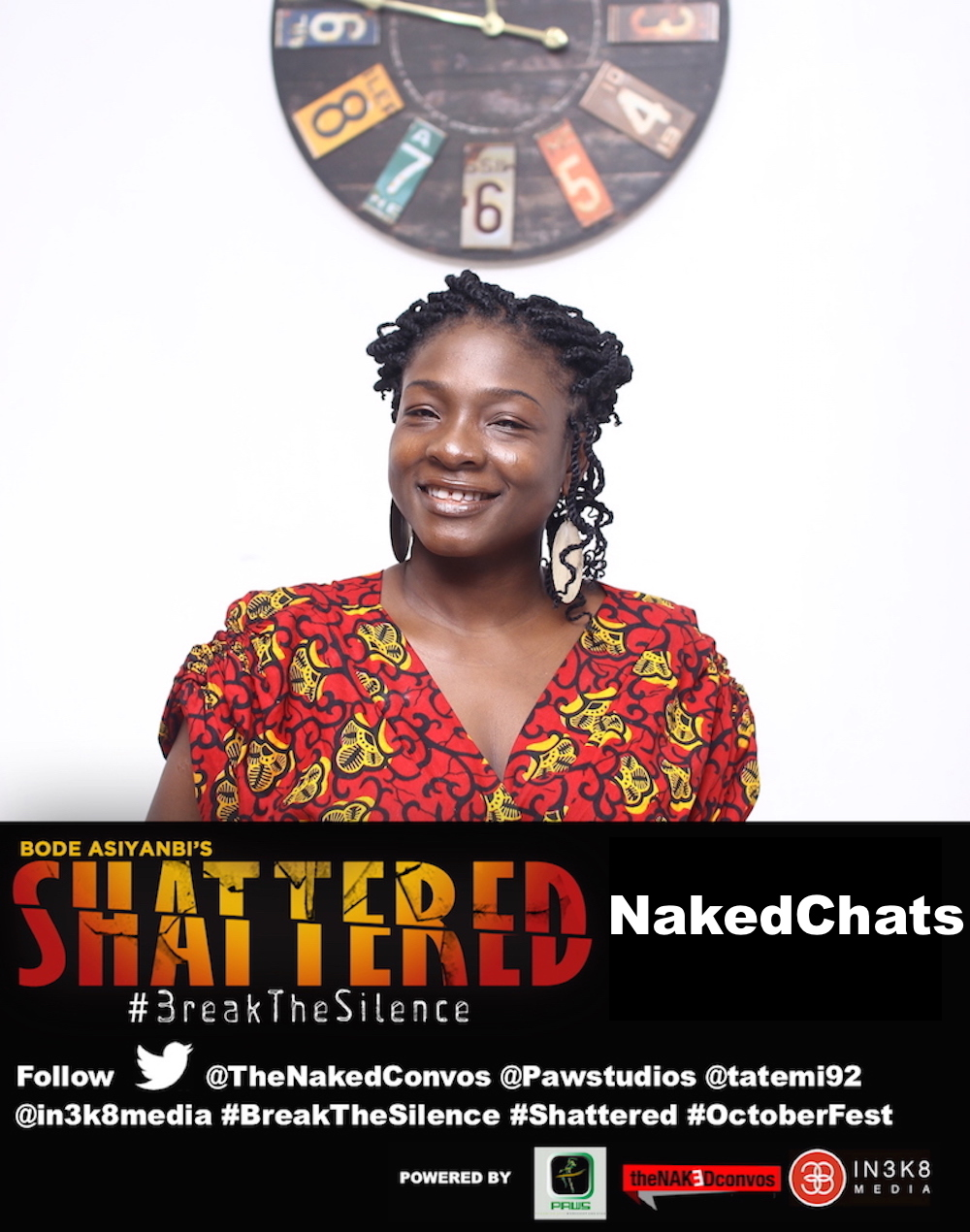 Shattered: TheNakedConvos #breakthesilence Twitter Chat Part 2