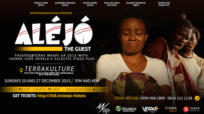 Wazobia Theatre's Aléjó at Terra Kulture In December