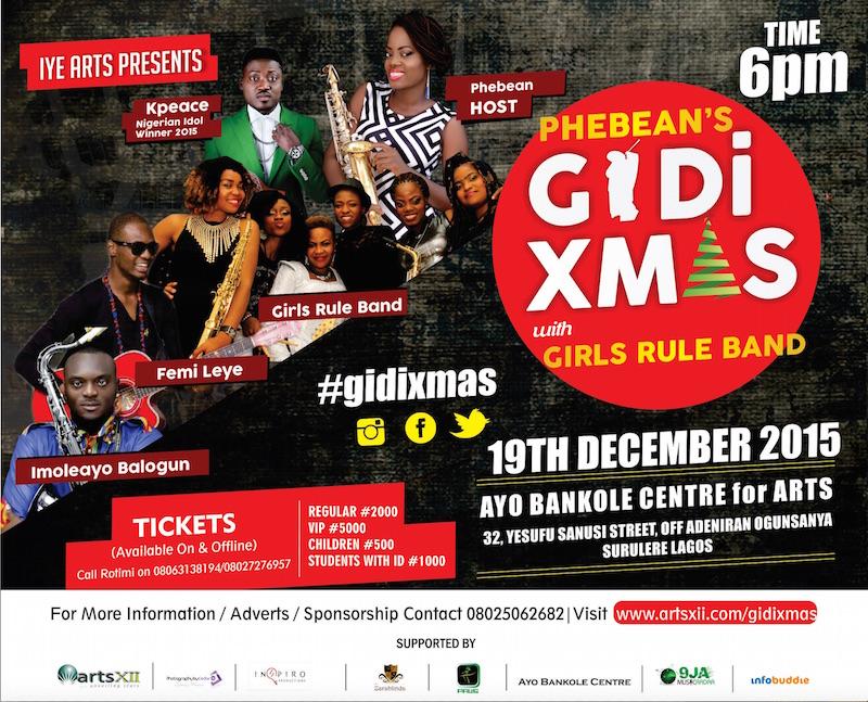 Phebean's Gidi Xmas Concert