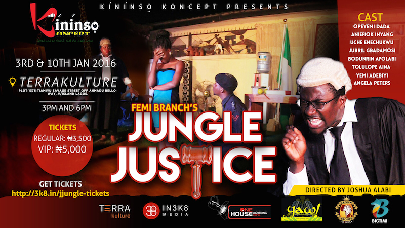 Femi Branch's Jungle Justice at TerraKulture