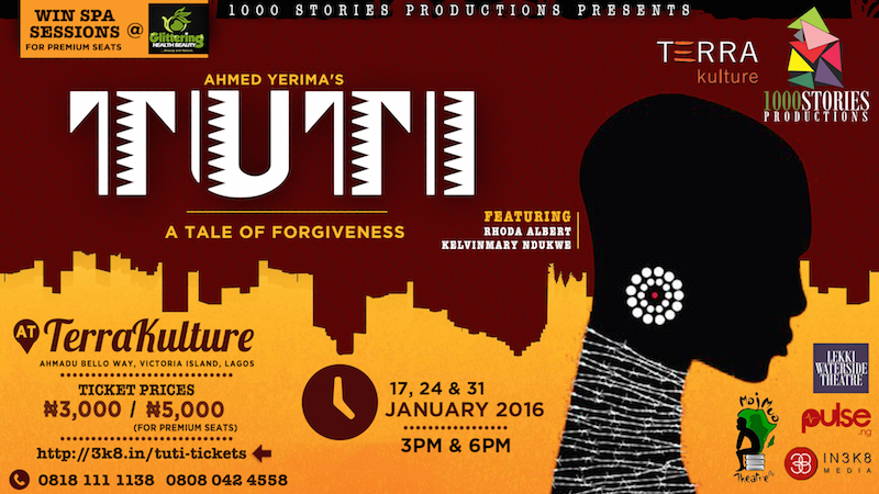Ahmed Yerima's TUTI at TerraKulture