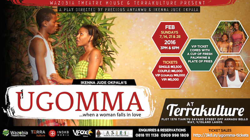 Wazobia Theatre's Ugomma at TerraKulture in February 2016