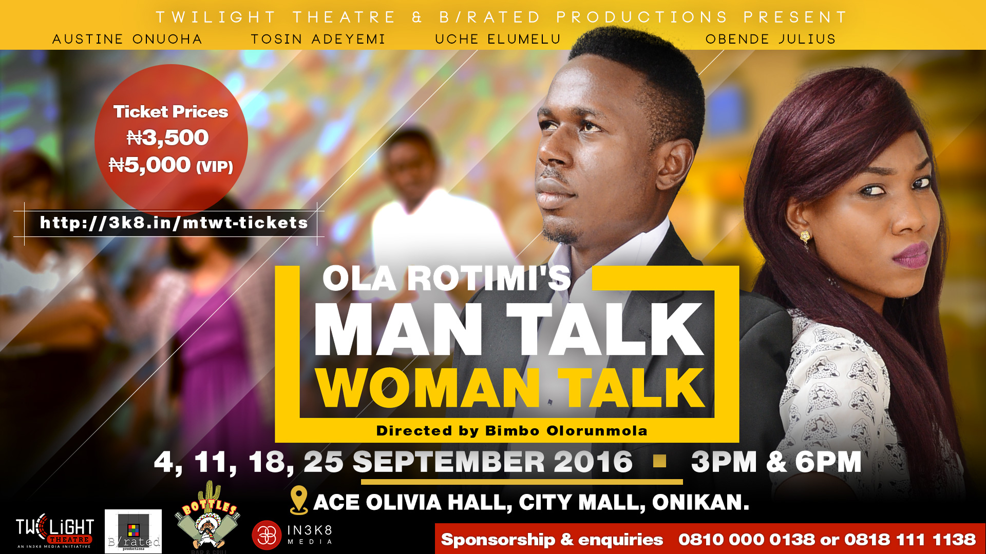 Ola Rotimi's Man Talk, Woman Talk