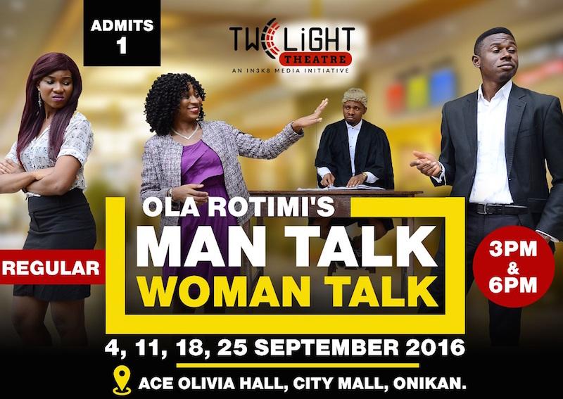 Man Talk Woman Talk at @Twilight Theatre