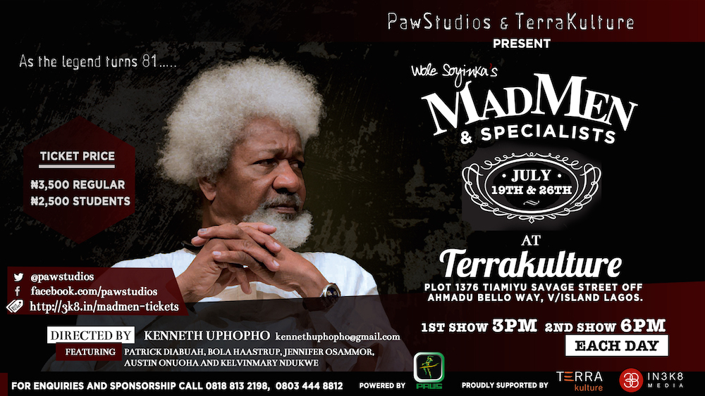 Madmen and Specialists at TerraKulture
