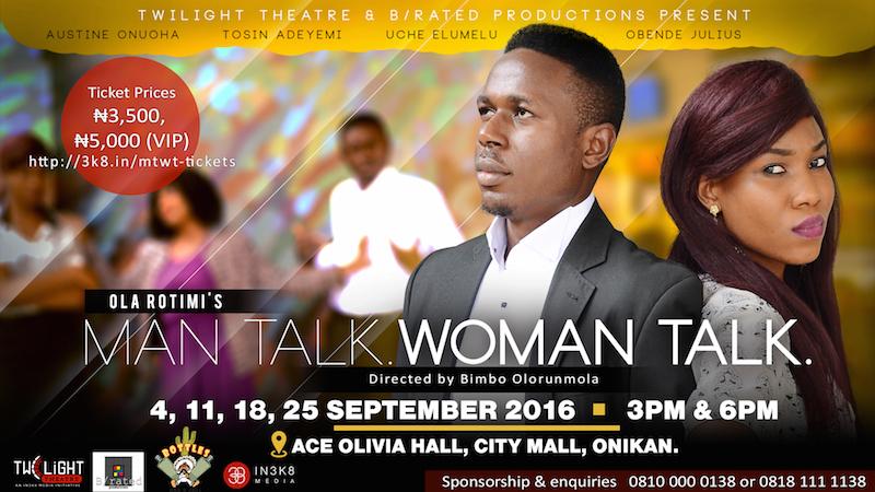 Man Talk Woman Talk @Twilight Theatre Campaign