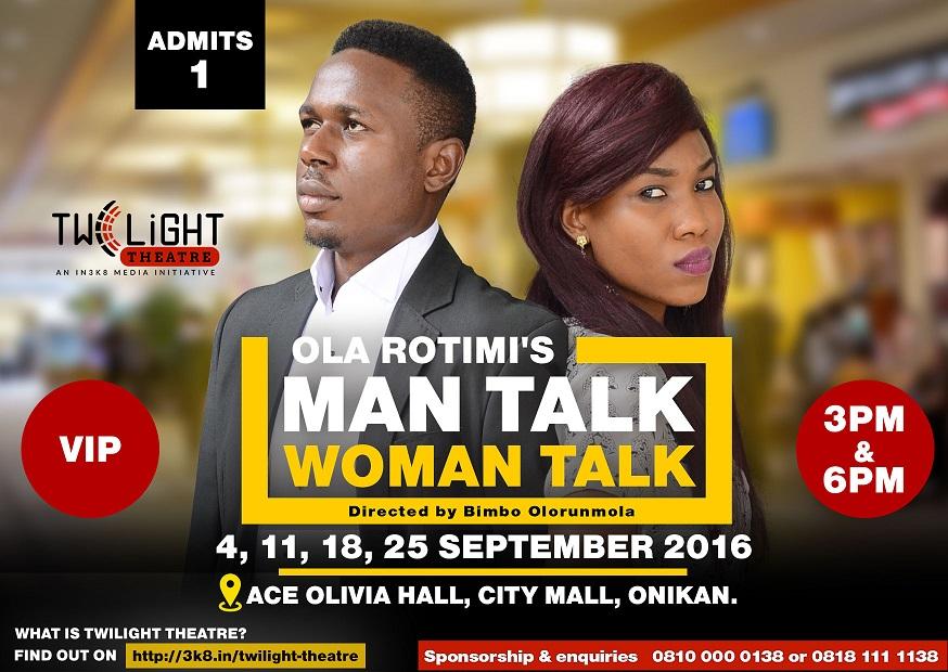Man Talk Woman Talk VIP Ticket