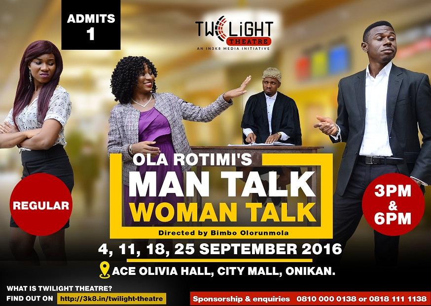 Man Talk Woman Talk Regular Ticket
