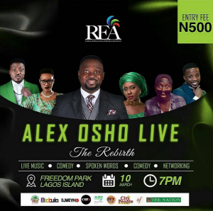 The Weekend Thermometer- Alex Osho Live