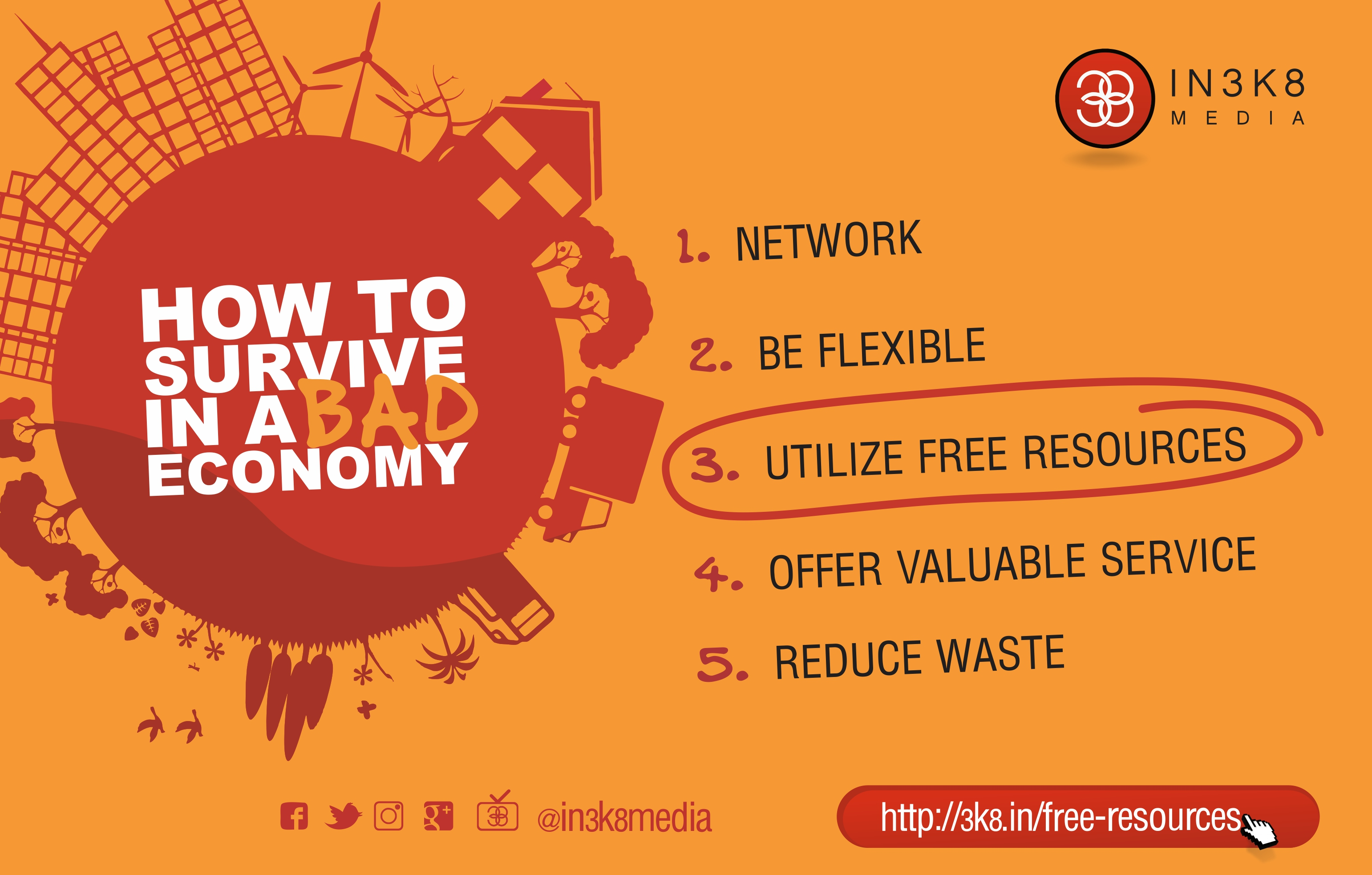 The Value Of Free Resources In Business   IN3K8 Media Red Book