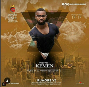 The Weekend thermometer- Party With Kemen