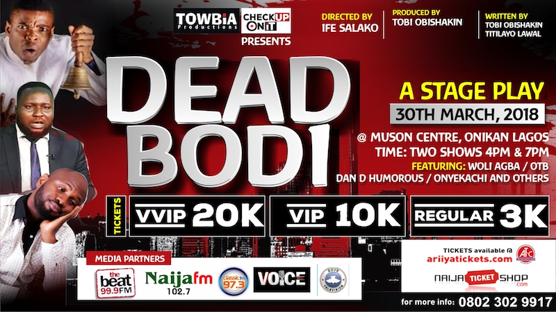 Dead Bodi StagePlay @ MUSON