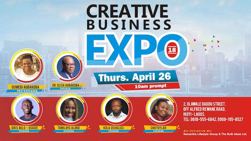 Creative Business Expo 2018