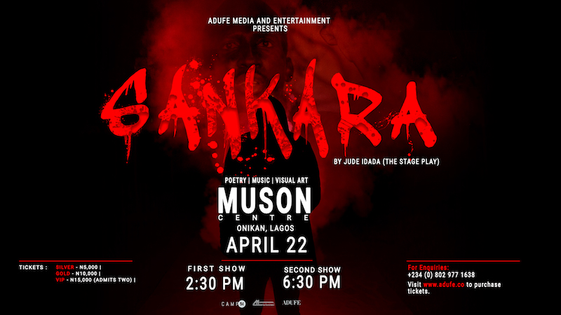 Jude Idada's Sankara Stage Play Campaign