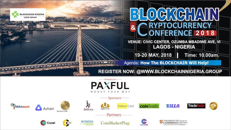 Blockchain & Cryptocurrency Conference 2018