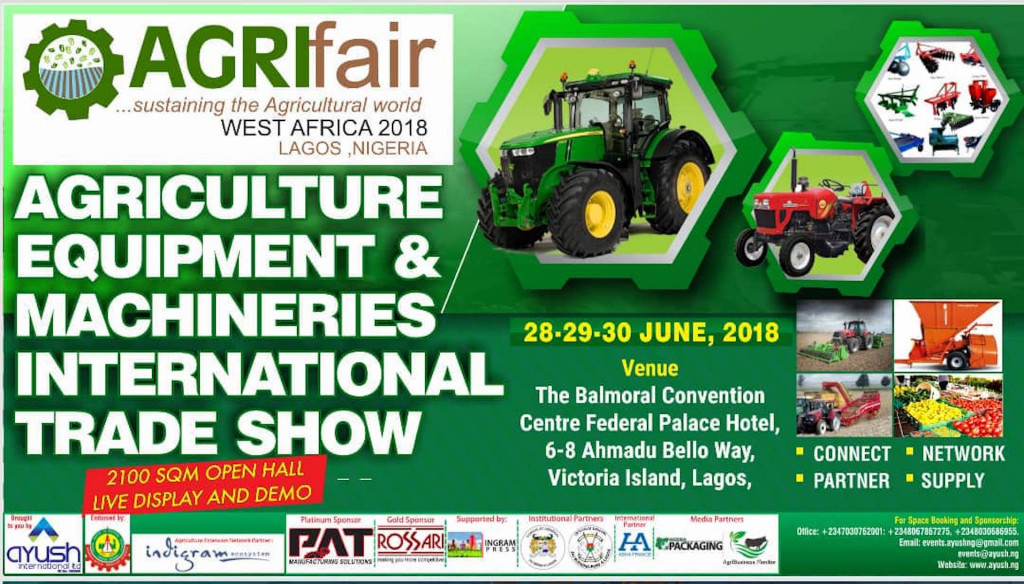 Agrifair & Mactools 2018 @Federal Palace