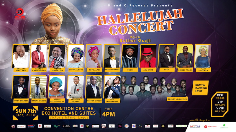 Hallelujah Concert with Esther Osaji @Eko Hotel