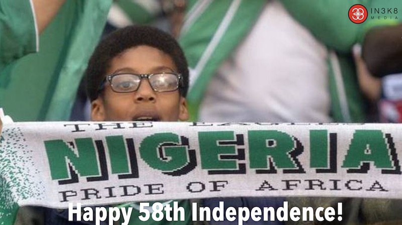 Hail Nigeria: We your children salute you!