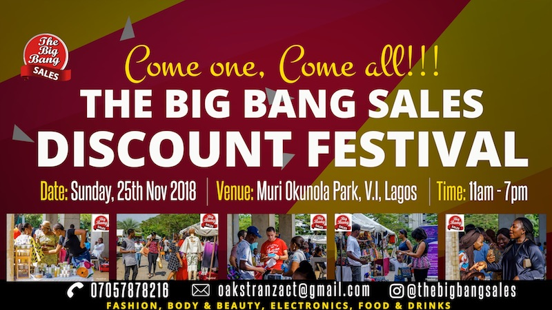 Big Bang Sales 7 @Muri Okunola Park