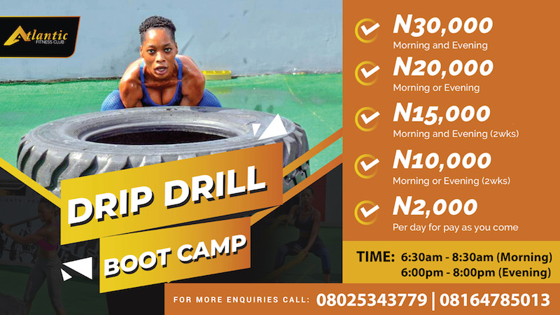 Drip Drill Bootcamp @Atlantic Fitness Club