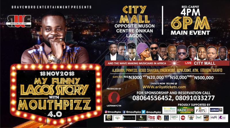My Funny Lagos Story with MouthPizz @City Mall