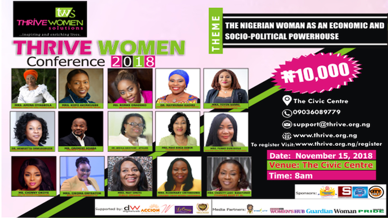 Thrive Women's Conference Lagos