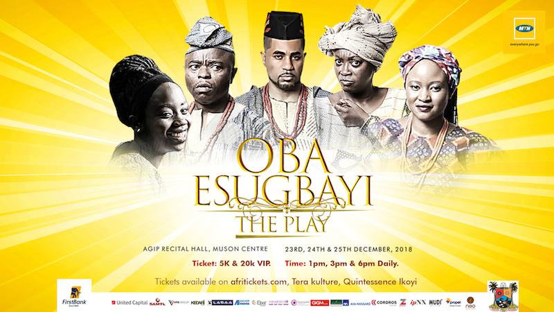 Joseph Edgar's Oba Esugbayi @MUSON Centre
