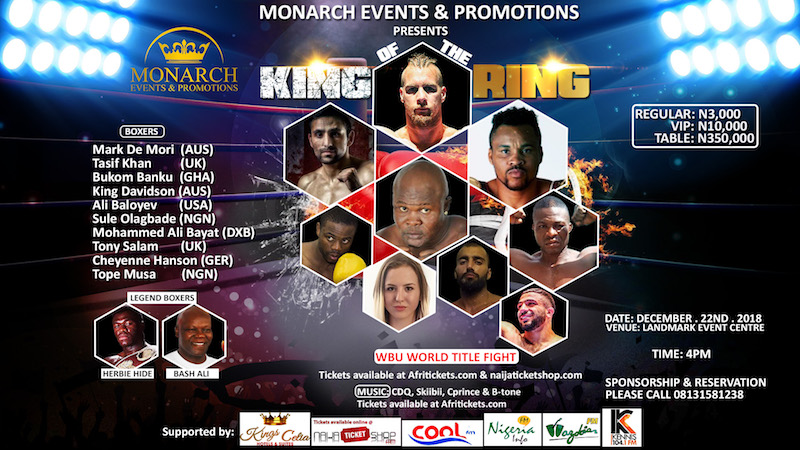 Monarch Events' King Of The Ring@Landmark