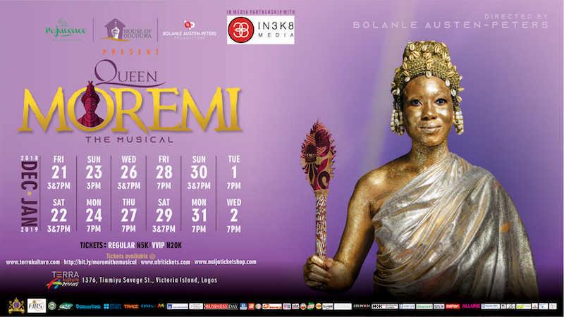 Queen Moremi @TerraKulture