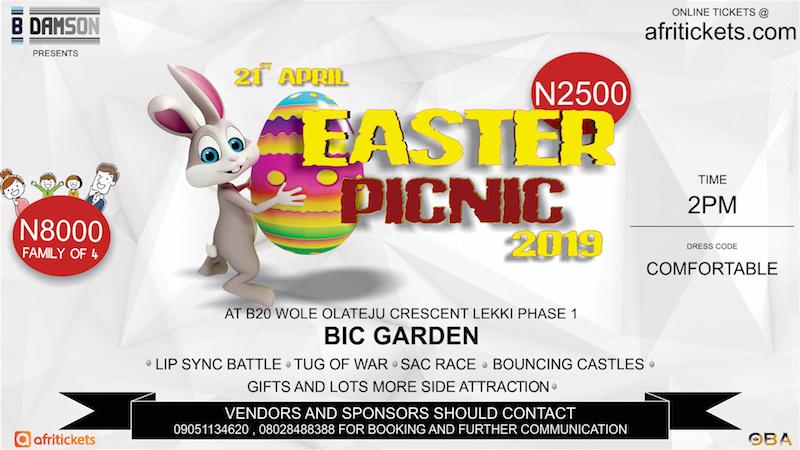 B'Damson's Easter Picninc @BICS Gardens