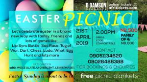 B'Damson's Easter Picnic