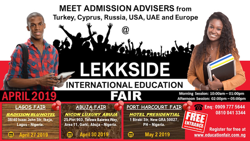 Lekkside Consults' Nigeria International Education Fair