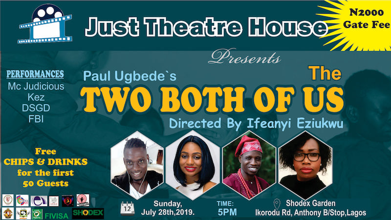 Paul Ugbede's The Two Both Of Us @Shodex Gardens