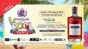 Coastalane Pool Party