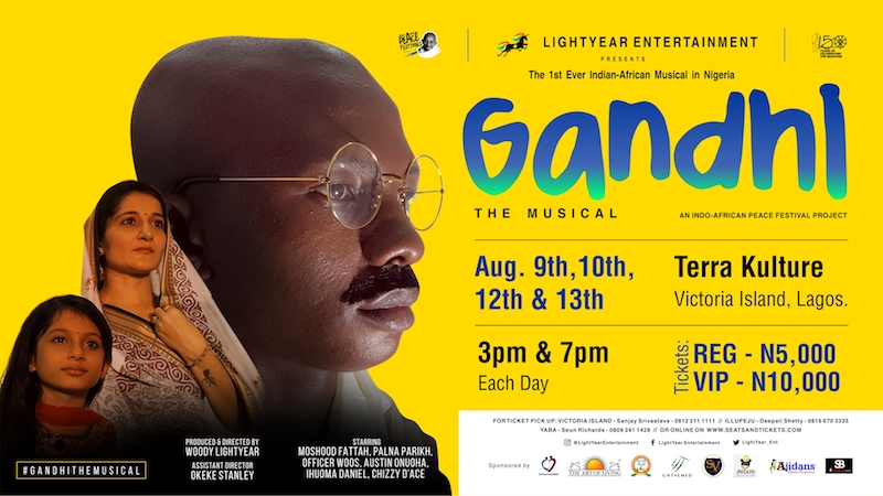 Gandhi The Musical @TerraKulture