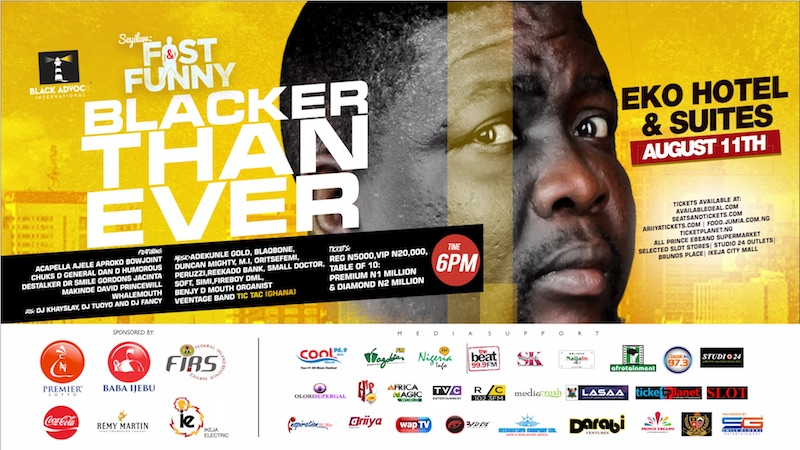 Fast & Funny: Blacker Than Ever @Eko Hotels