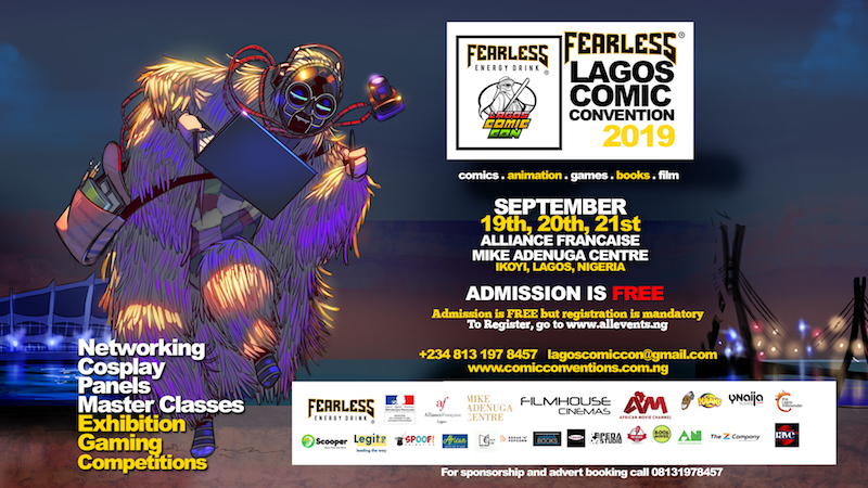 Fealess Lagos Comic Con @ Mike Adenuga Centre