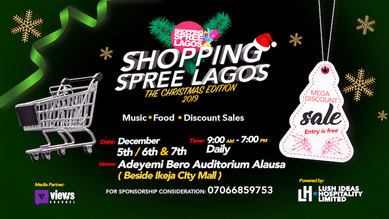 Lush Ideas Shopping Spree Lagos