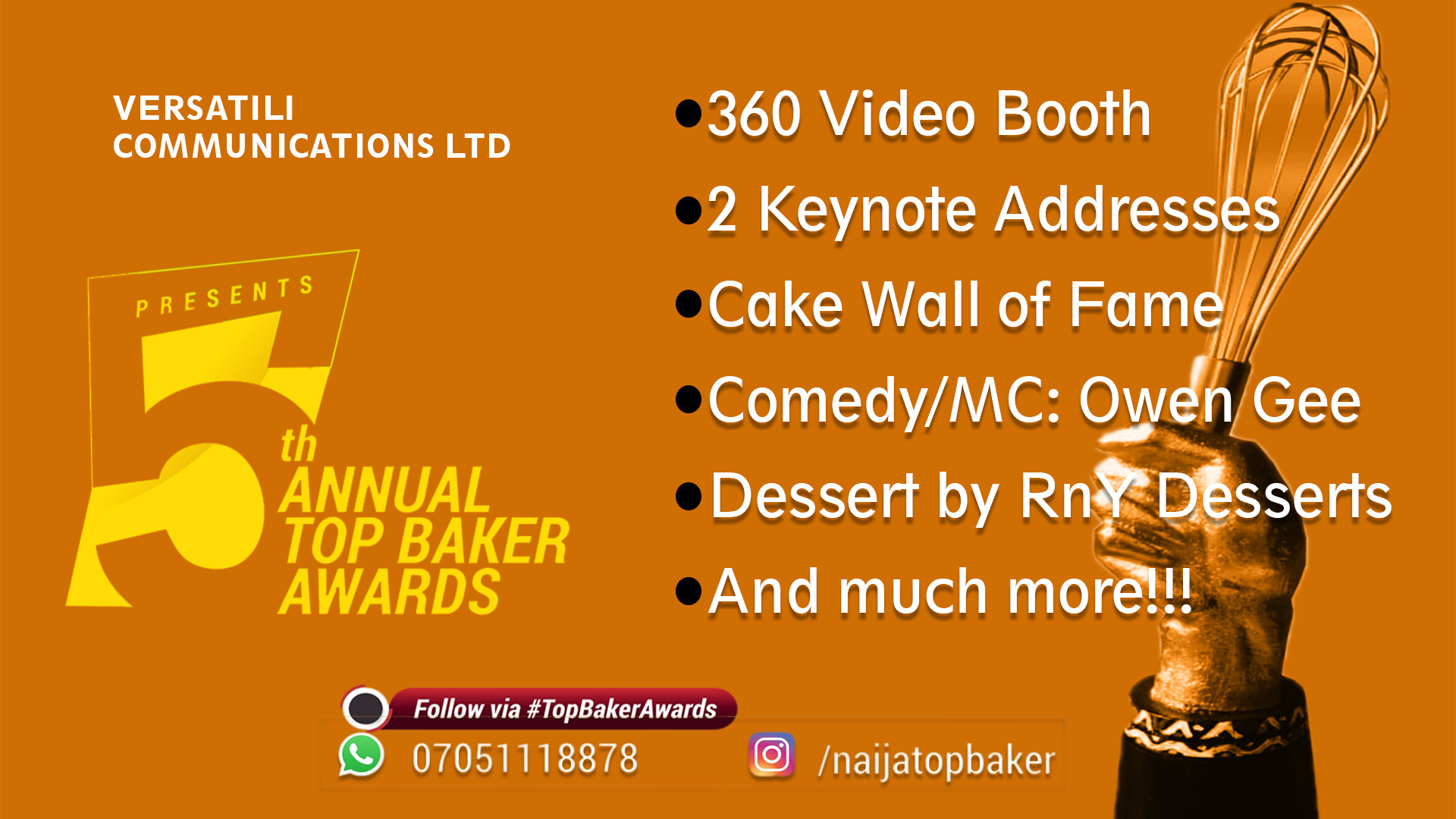 Top Baker Awards 2019