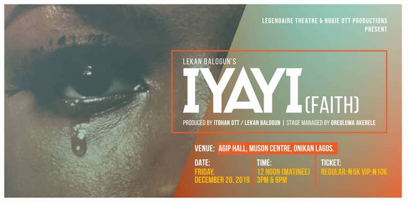 "Iyayi ""Faith"" Stage Play @ MUSON"