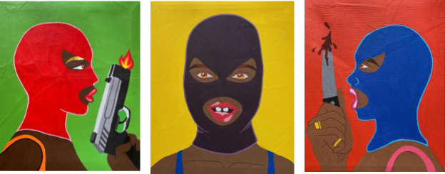 Etopima Umanah's Crybaby, Hartless Vixen & Raging Bitch.