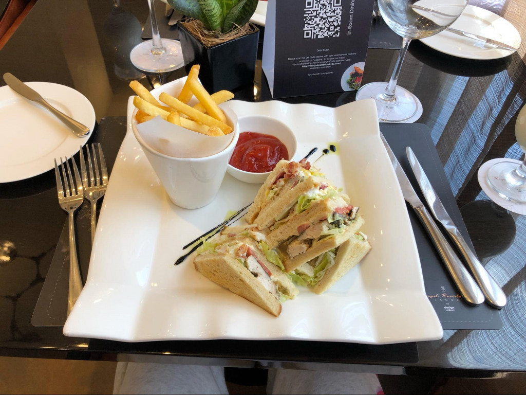 Eden's Club mouth-watering sandwich